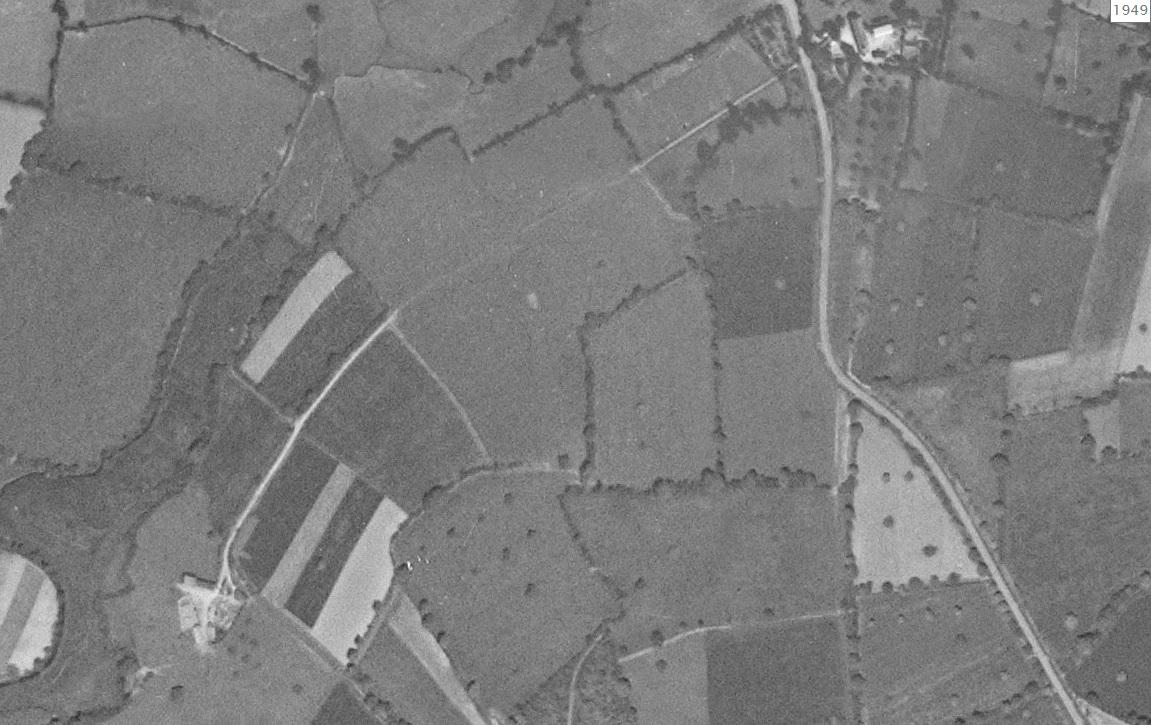 Photo aérienne 1940