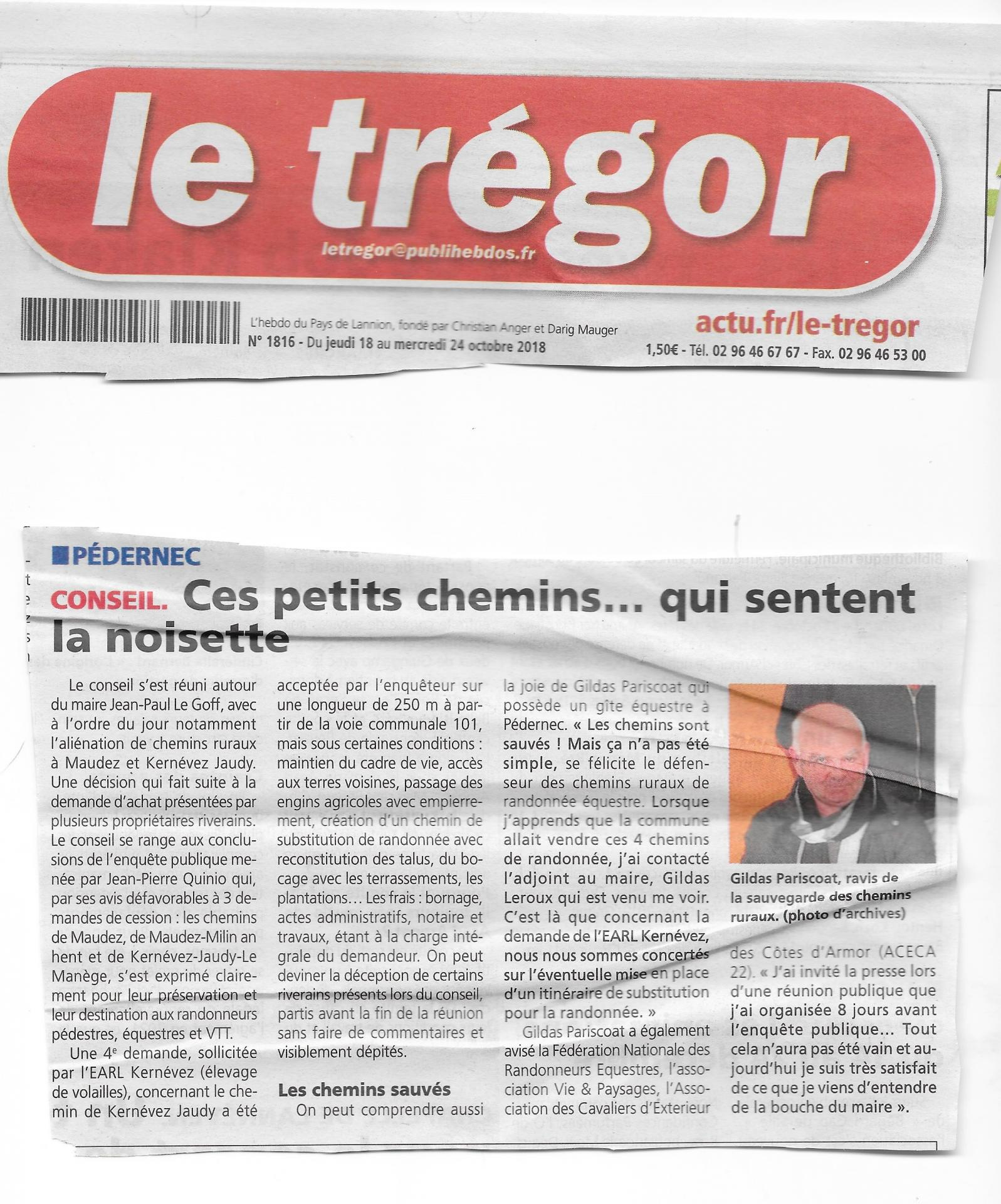 Article du tregor